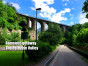 Petrusse valley Luxembourg romantic walk