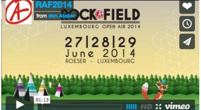 Rockafield RAF Luxembourg rock festival