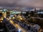 night Luxembourg city Grund